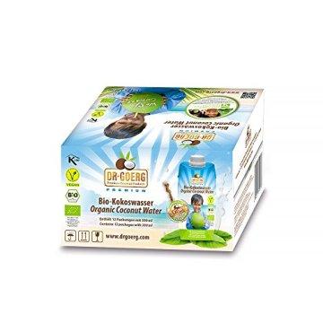 Dr. Goerg Premium Bio-Kokoswasser 330ml Sparpaket 12 Stück -