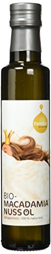 Fandler Bio-Macadamianussöl, 1er Pack (1 x 250 ml) - 1