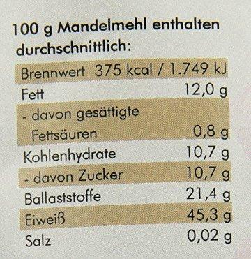 manako BIO Mandelmehl, 1er Pack (1 x 0.5 kg) - 2
