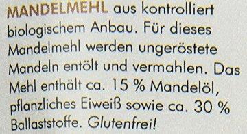 manako BIO Mandelmehl, 1er Pack (1 x 0.5 kg) - 3