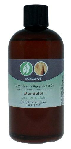 Mandelöl - 100% reines kaltgepresstes Öl - 250ml - 1