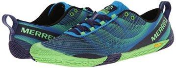 Merrell VAPOR GLOVE 2, Herren Outdoor Fitnessschuhe, Blau (RACER BLUE/BRIGHT GREEN), 50 EU - 6