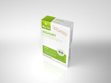 My.Yo Joghurt Probiotisch, Joghurtferment zur Joghurtherstellung, 3 Beutel, Bio-Zertifiziert - 1