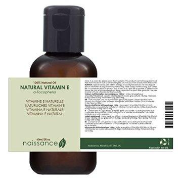 Naissance Natürliches Vitamin E Öl - Tocopherol 60ml 100% rein - 3