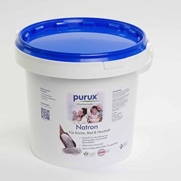 Natron 1 kg Natriumhydrogencarbonat NaHCO3 Natriumbicarbonat E500 ii Backsoda -