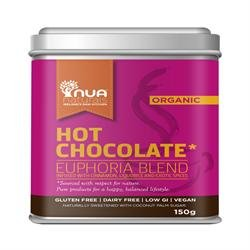 Nua Naturals Euphoria Hot Chocolate 150 g (order 12 for trade outer) - 1