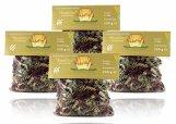 Nudelly's Quattro Bambino glutenfreie Pasta im 4er-Pack, Sesammehl, Eier-Nudeln mit Tapioka-Stärke als Fusilli, low-carb, paleo, clean, sojafrei - 1