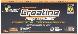 Olimp Creatine 1250 Mega Caps, 120 Kapseln - 1
