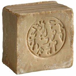 Original Aleppo Seife aus Syrien Klassik, 85% Olivenöl 15% Lorbeeröl, ca. 215 Gramm - 1