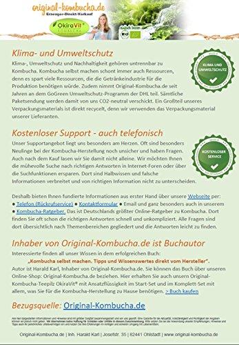 Original-Kombucha-Teepilz Premium Qualität + Bio-Kombucha-Getränk für 3 L, Anleitung + Anwuchsgarantie. Aus dem Heilbad Bad Kohlgrub. - 7