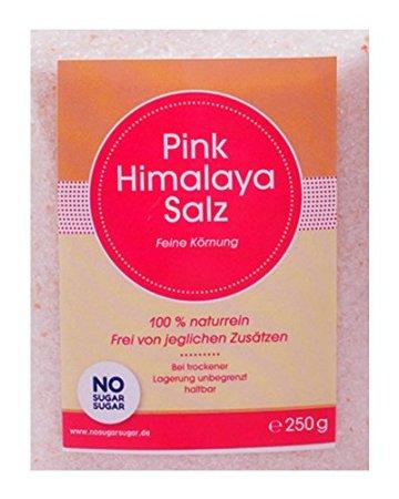 Pink Himalaya Salz, feine Körnung, 250g (Steinsalz / Kristallsalz aus Pakistan) - 2