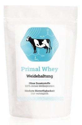 PRIMAL WHEY Protein (100% reines Molkeprotein von Weidetieren) - 453g - 1