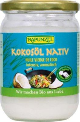 Rapunzel Kokosöl nativ, 1er Pack (1 x 400 g) - Bio - 1
