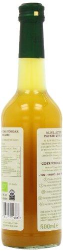 Roh Gesundheit Apfelessig mit der Mutter nicht pasteurisierte-naturtrübe Bio 500g - 6