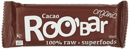 Roobar cacao und cashew, 16er Pack (16 x 50 g) - 1