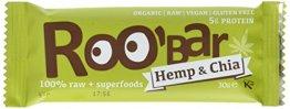 Roobar hemp protein und chia, 10er Pack (10 x 30 g) - 1