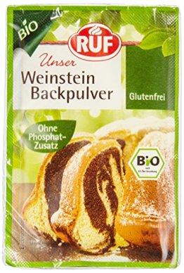 RUF Bio Weinstein Backpulver 20x3er - 1