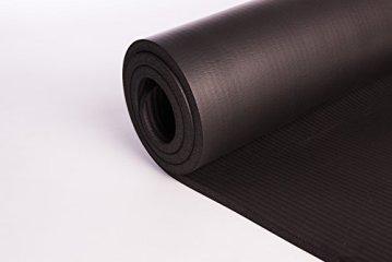 Rutschfeste Yogamatte von KG | PHYSIO - 1 cm dicke Premium-Fitnessmatte fürs Fitnessstudio, Pilates oder zuhause mit Schultertragegurt (auf der Innenseite der Matte) 183 cm x 60 cm x 1 cm - 3