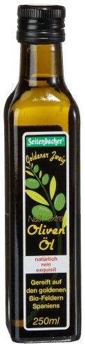 Seitenbacher Bio Oliven Öl kaltgepresst, nativ aus Spanien, 1er Pack (1 x 250 ml Flasche) - Bio - 1
