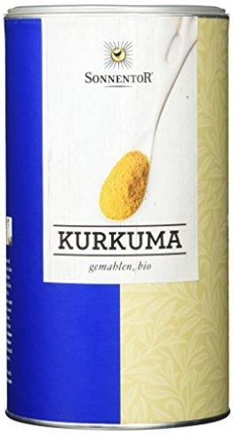 Sonnentor Kurkuma gemahlen Gastrodose bio, 1er Pack (1 x 550 g) - 1