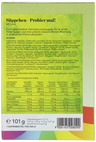 Sonnentor Probier mal - Geschenkkarton kbA, 1er Pack (1 x 508 g) - Bio - 5