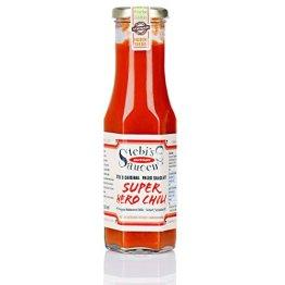 Stebi`s Paleo Sauce No.11 - Chili HOT - Super HERO (Habanero Chili, 100 % Natürlich) - 1