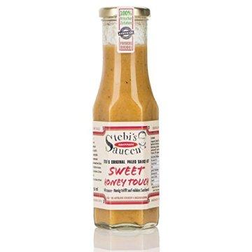 Stebi`s Paleo Sauce No.7 – Honig-Senf – Sweet Honey Touch (100 % Natürlich) -