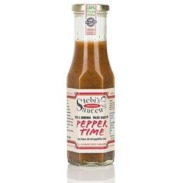 Stebi`s Paleo Sauce No.9 - Chilisauce - Half Hero (Habanero Chili, 100 % Natürlich) - 1