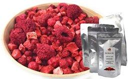 TALI Rote Beeren Mix 175 g - Gefriergetrocknete Früchte (Erdbeeren, Himbeeren, Johannisbeeren) - 1