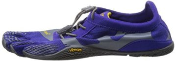 Vibram Five Fingers - KSO EVO (Damen) - Zehenschuhe - Purple/Grey Größe: 40 - 5