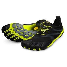 Vibram FiveFingers Bikila EVO Men - 2014, Size:47;Color:Black/Yellow - 1