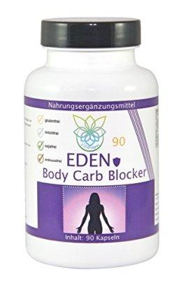 VITARAGNA Eden Body Carb-Blocker 90 Kapseln, der Kohlenhydratblocker mit Bockshornkleesamen und Bohnenpulver als Extrakt - 1