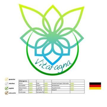 VITARAGNA Eden Care Clean-Tox Aktiv Plus 60 Kapseln Detox Complex, vegan, mit Coenzym-Q10, Mariendistelöl, Rosmarinextrakt, Entgiftungskur zum Abnehmen in der Diät - 6