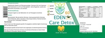 VITARAGNA Eden Care Detox Aktiv Plus 60 Kapseln Complex mit Coenzym-Q10, cleanse und vegan, Entgiftungskur, Entgiftung, Darmreinigung, Leberreinigung, Abnehmen in der Diät - 2