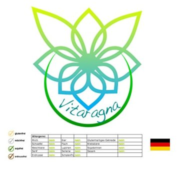VITARAGNA Eden Care Detox Aktiv Plus 60 Kapseln Complex mit Coenzym-Q10, cleanse und vegan, Entgiftungskur, Entgiftung, Darmreinigung, Leberreinigung, Abnehmen in der Diät - 6