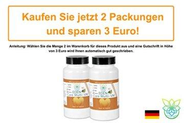 VITARAGNA Eden Care Multi-VM Komplex 90 Tabletten, Tagesdosis Multivitamine & Mineralstoffe, vegan, 3-Monatsration, B Komplex hochdosiert + Magnesium, Zink und Vitamin-D - 5