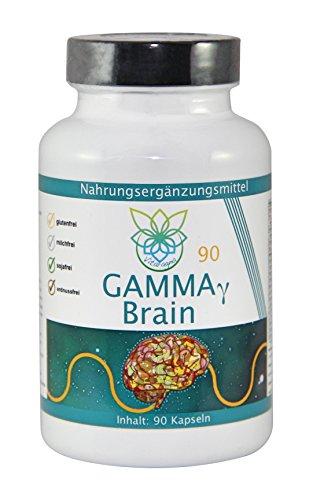 VITARAGNA Gamma Brain 90 Kapseln, 100% vegan, Premium Gehirn-Booster, Brain Booster - 1