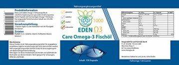 VITARAGNA Omega 3 Fischöl-Kapseln 33 / 22 , EPA / DHA mit natürlichem Vitamin E, hochdosiert mit hohem EPA und DHA Anteil - 2