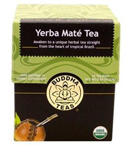 Yerba Mate Tee - Bio-Kräuter - 18 Sachets Bleach Kostenlose Teebeutel von Buddha Tees - 1
