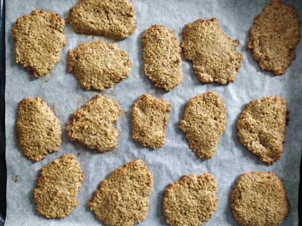 Linų sėmenų sausainiai be glitimo