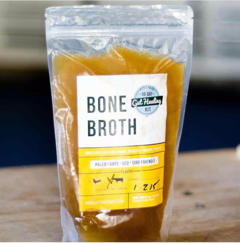 Bone Broth - Pete's Paleo offers ready-to-eat Paleo meals, but what sets us apart from the rest of the pack is that our meals are made with the highest quality, real food ingredients. In fact, the farm fresh vegetables we use are literally picked out of the ground just a few days before you get them in your meals! We don't make compromises on quality. That's not our style. #paleo #certifiedpaleo