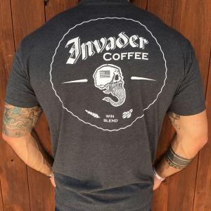 rogue american apparel invader coffee tshirt