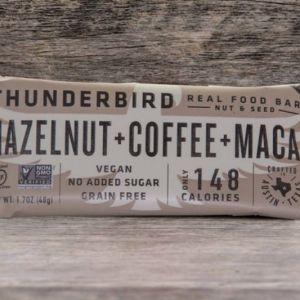 Hazelnut Coffee Thunderbird Bars certified paleo and paleovegan
