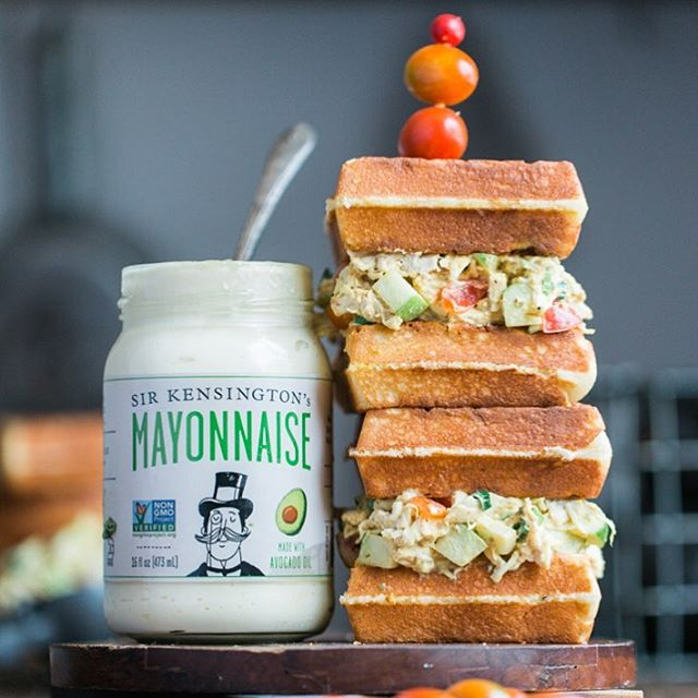 Avocado Oil Mayo - Sir Kensington's is a saucy yet dignified brand of New York-based gourmet condiments that offers an all-natural, GMO-free alternative to the ketchup status quo. #paleo #paleofriendly