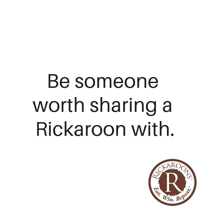 Be Someone Worth Sharing - Rickaroons - Certified Paleo, PaleoVegan by the Paleo Foundation