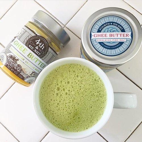 Ghee Coffee - 4th & Heart Grassfed Ghee - Certified Paleo, KETO Certified - Paleo Foundation