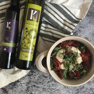 Kasandrinos Extra Virgin Olive Oil and Balsamic Vinegar
