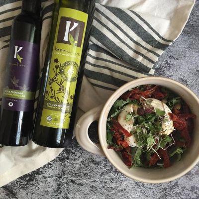 Kasandrinos Extra Virgin Olive Oil and Balsamic Vinegar