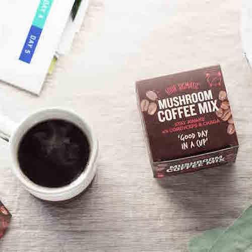 Mushroom Coffee Chaga with Cordyceps - Four Sigmatic - Certified Paleo, PaleoVegan, KETO Certified - Paleo Foundation