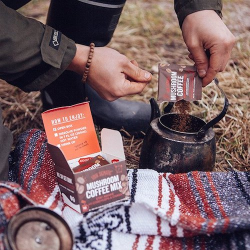 Mushroom Coffee with Cordyceps & Chaga - Four Sigmatic - Certified Paleo, PaleoVegan, KETO Certified - Paleo Foundation